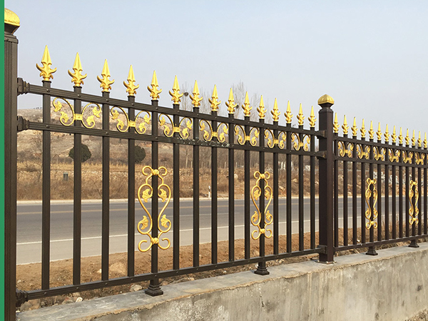 Anti Climb Aluminum Fence