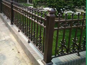 Decorative Outdoor Aluminum Fence