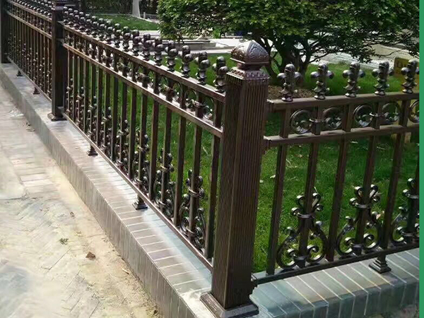Decorative Outdoor Aluminum Fen