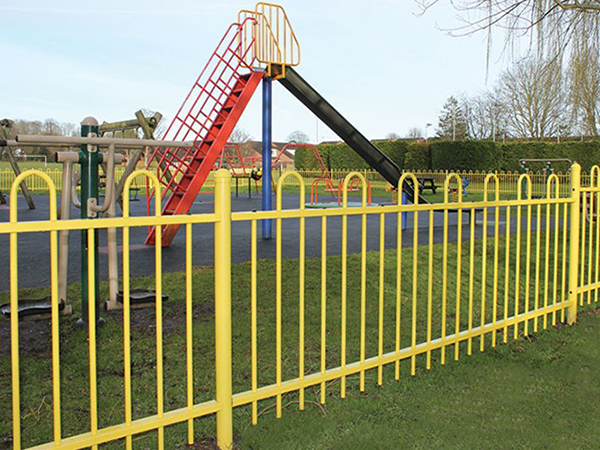Loop Top Fence for School