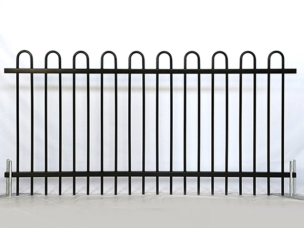 Loop Top Steel Fence