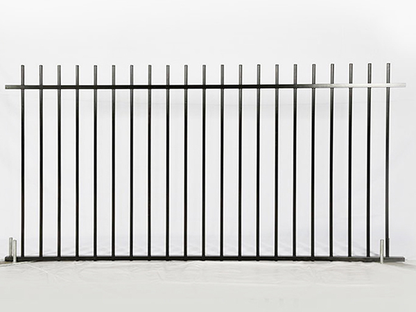 Rod Top Steel Fence