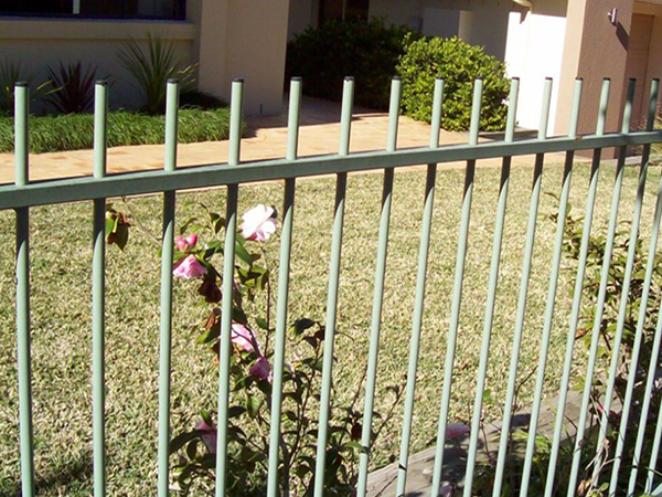 Steel Fence Panel with Extended