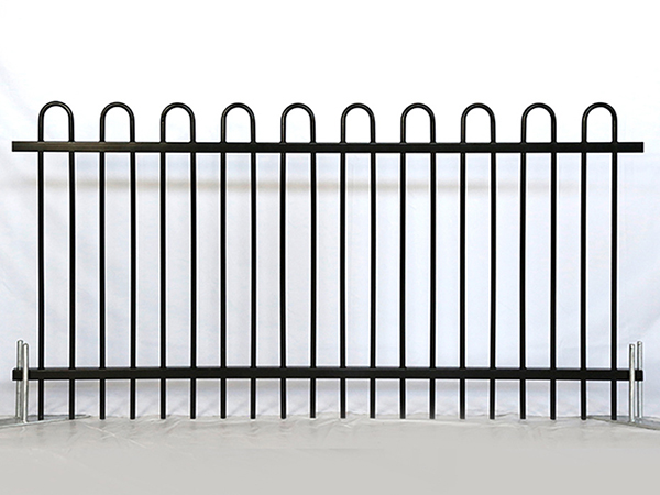 Steel Loop Top Fence