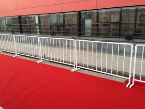 Steel Tube Temporary Fence